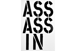 Christopher Wool Assassin